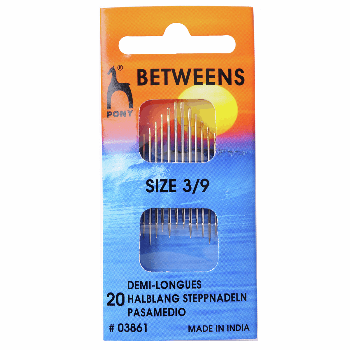 Picture of Hand Sewing Needles: Betweens: Gold Eye: Size 3-9