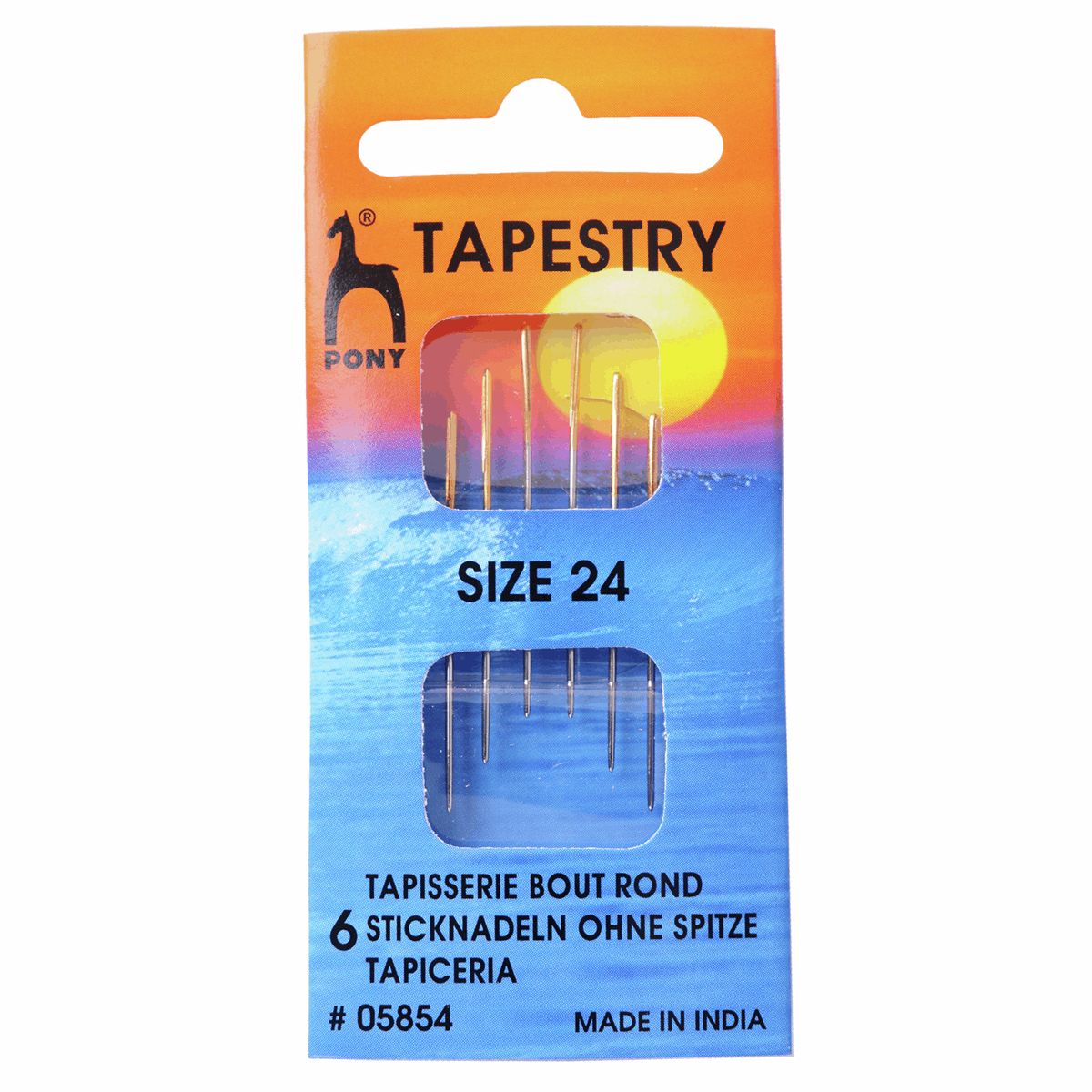 Picture of Hand Sewing Needles: Gold Eye: Tapestry Size 24