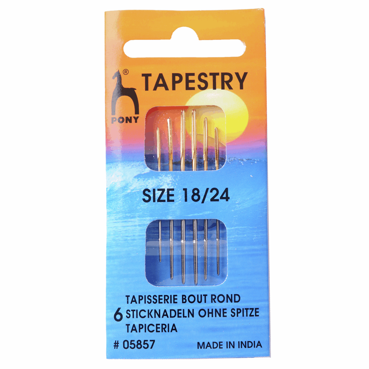 Picture of Hand Sewing Needles: Gold Eye: Tapestry Size 18-24