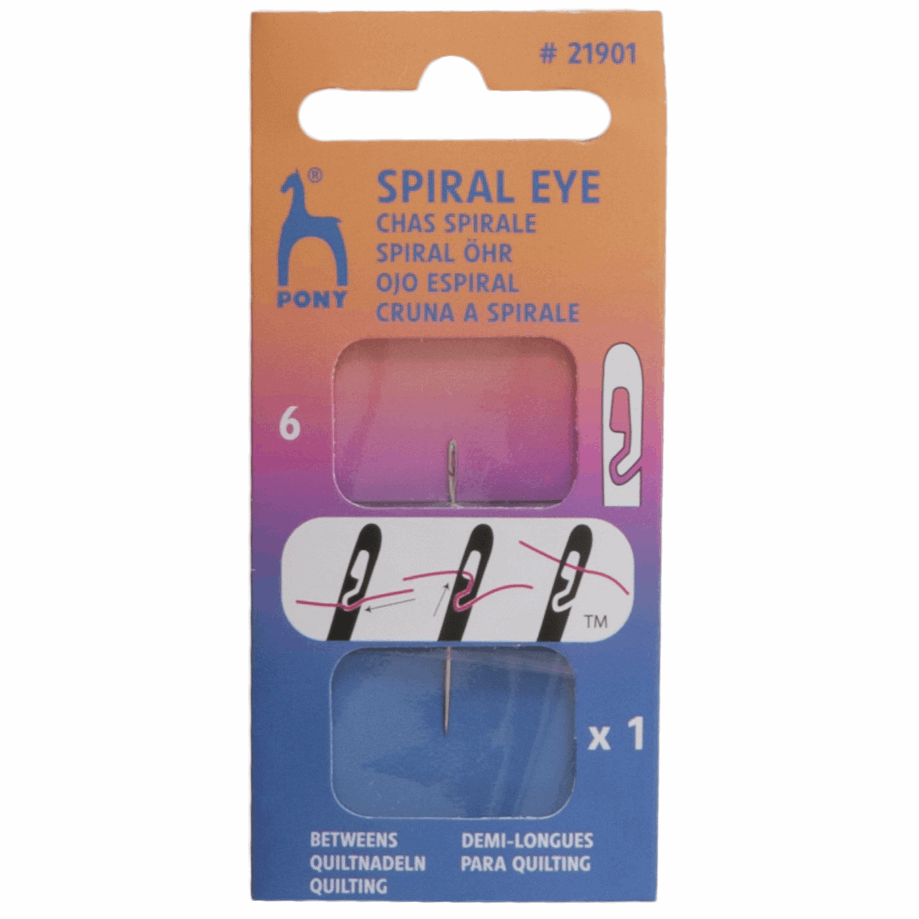 Picture of Hand Sewing Needles: Spiral Eye&#174: Betweens: 6mm