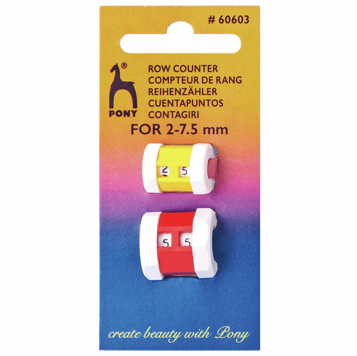 Picture of Row Counter: Combi Pack: Sizes 2.00mm - 7.50mm