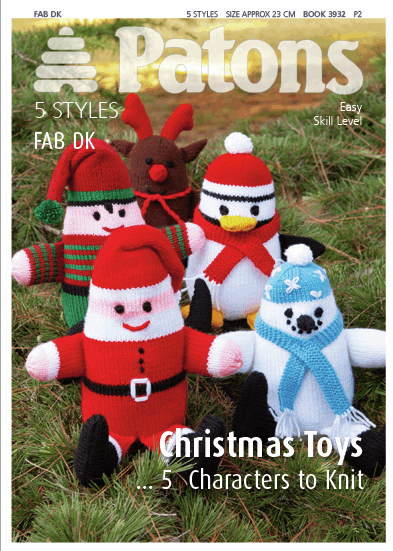 Picture of Patons Pattern: Christmas Toys