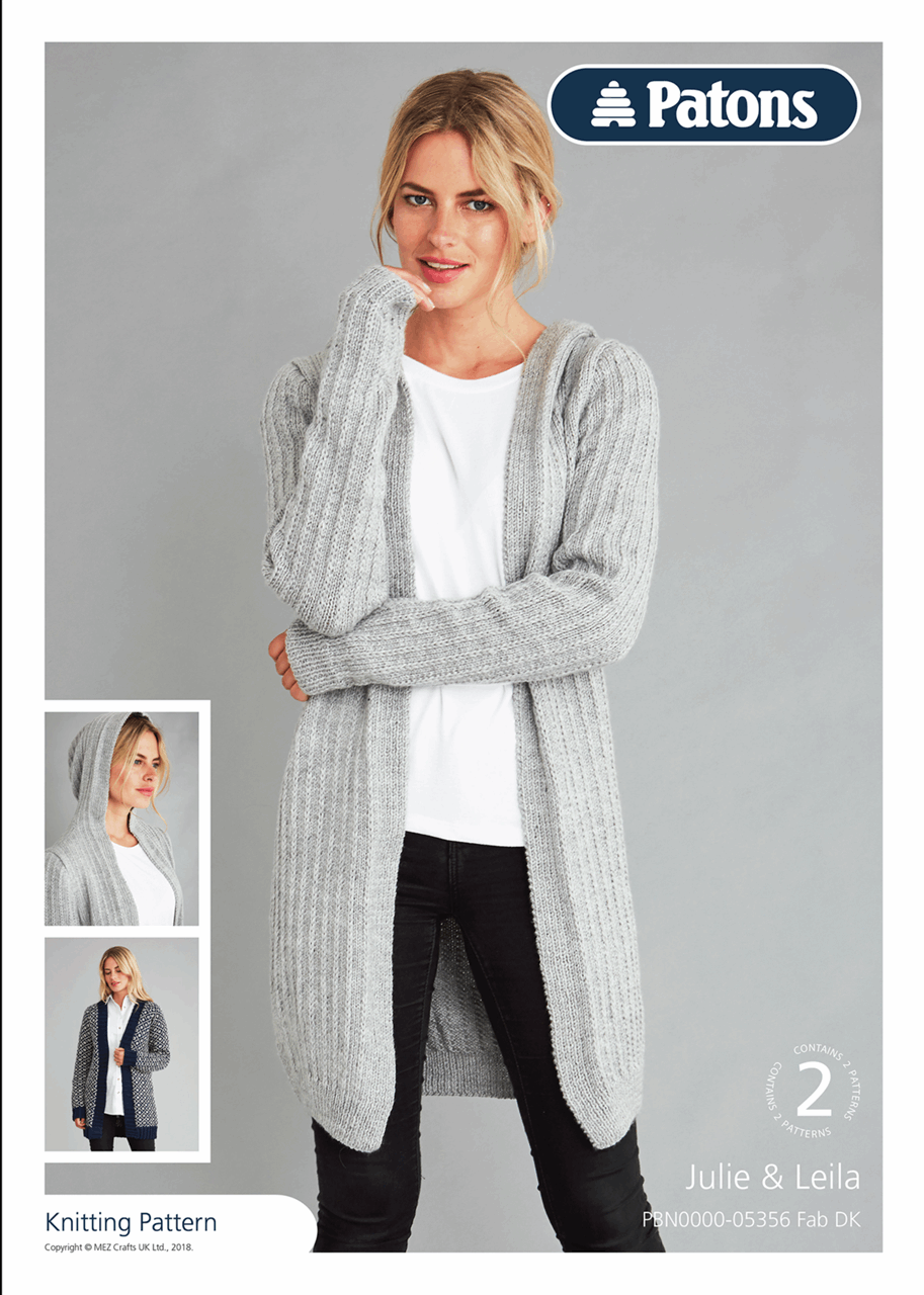 Picture of Patons Pattern Leaflet: Fab DK