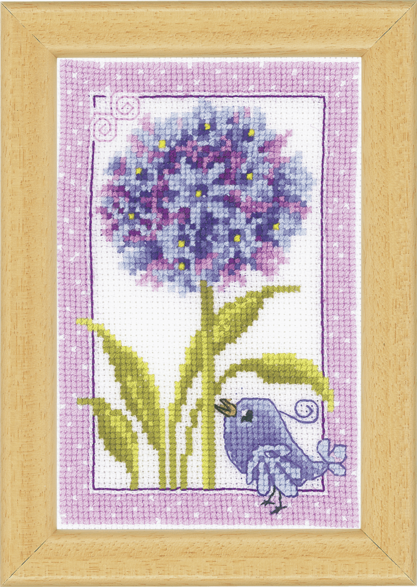 Picture of Counted Cross Stitch Kit: Agapanthus