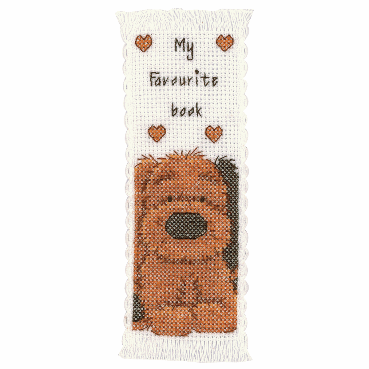 Picture of Counted Cross Stitch Kit: Bookmark Biscuit