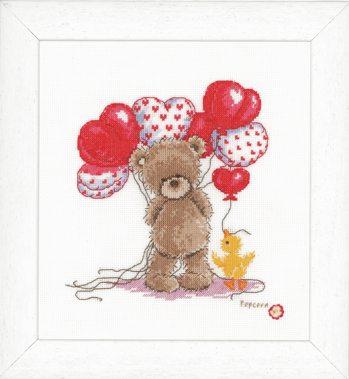 Picture of Popcorn: Counted X Stitch Kit: Beautiful Balloons