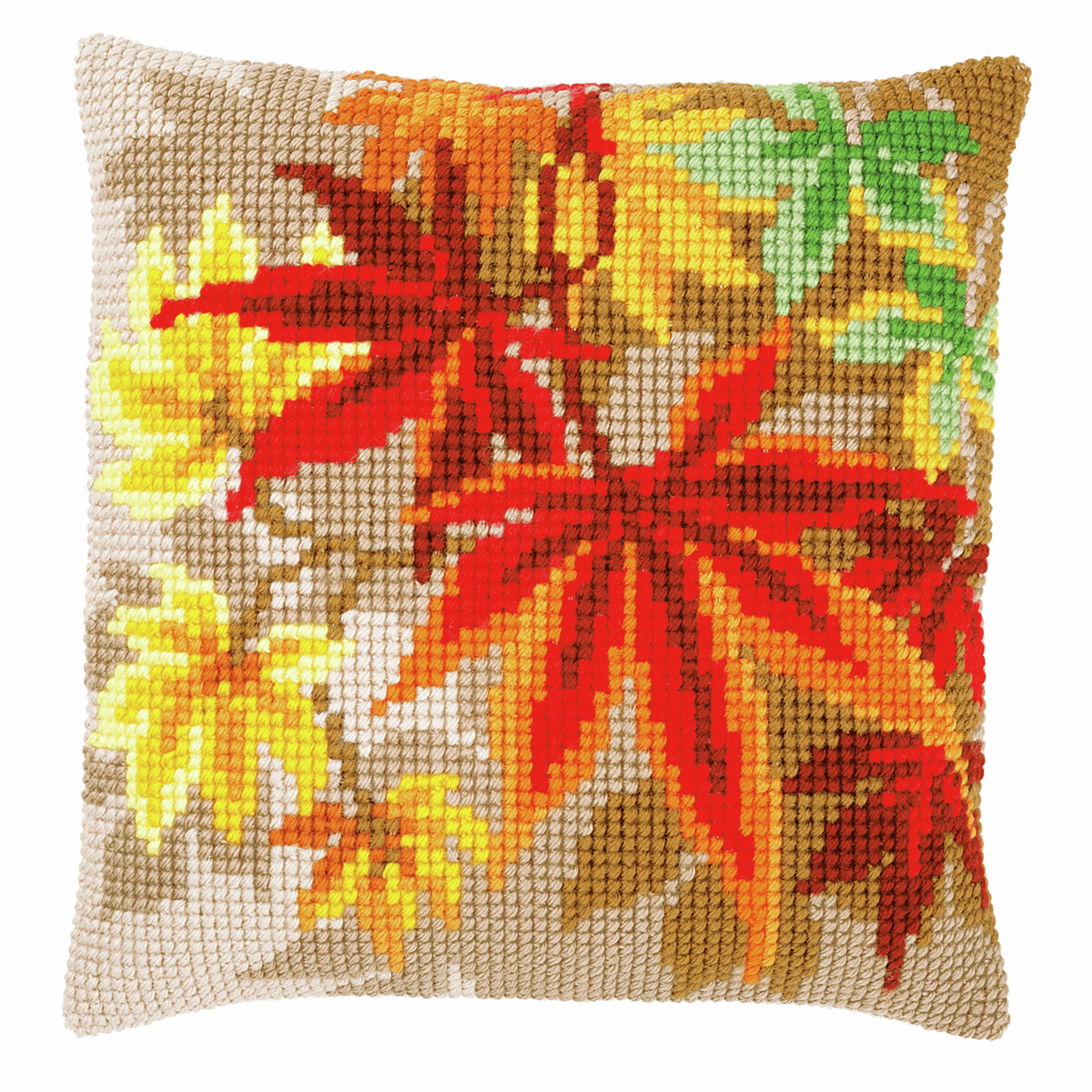 Picture of Cross Stitch Cushion Kit: Autumn Leaves