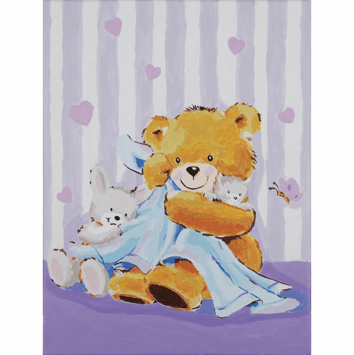Picture of Paint By Number Kit: Bear with a Blanket
