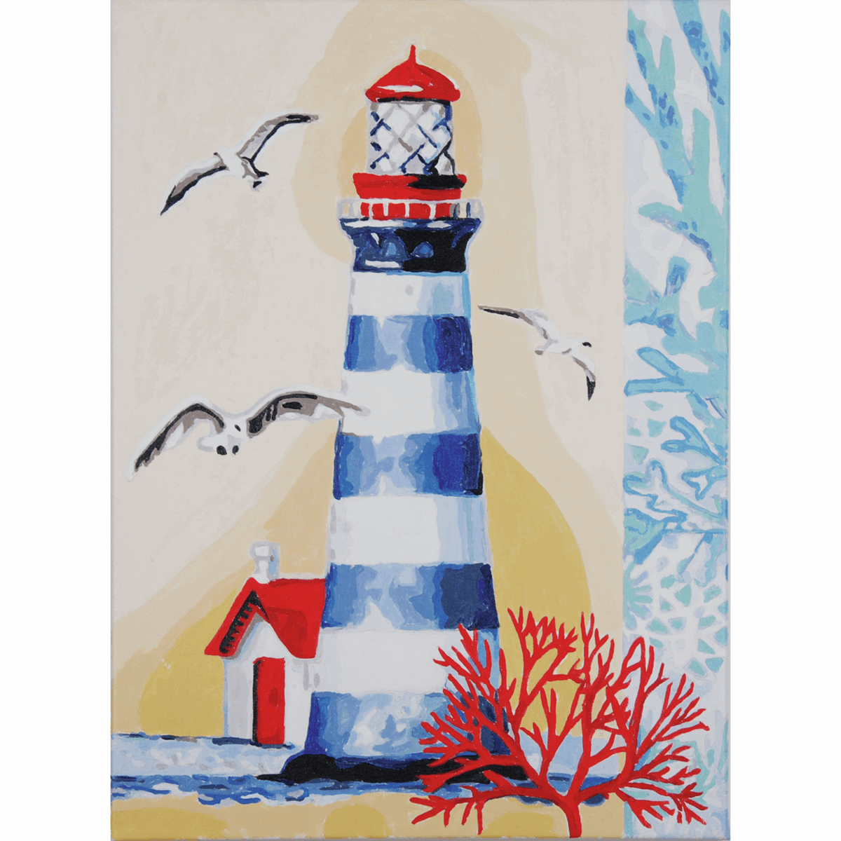 Picture of Paint By Number Kit: Lighthouse