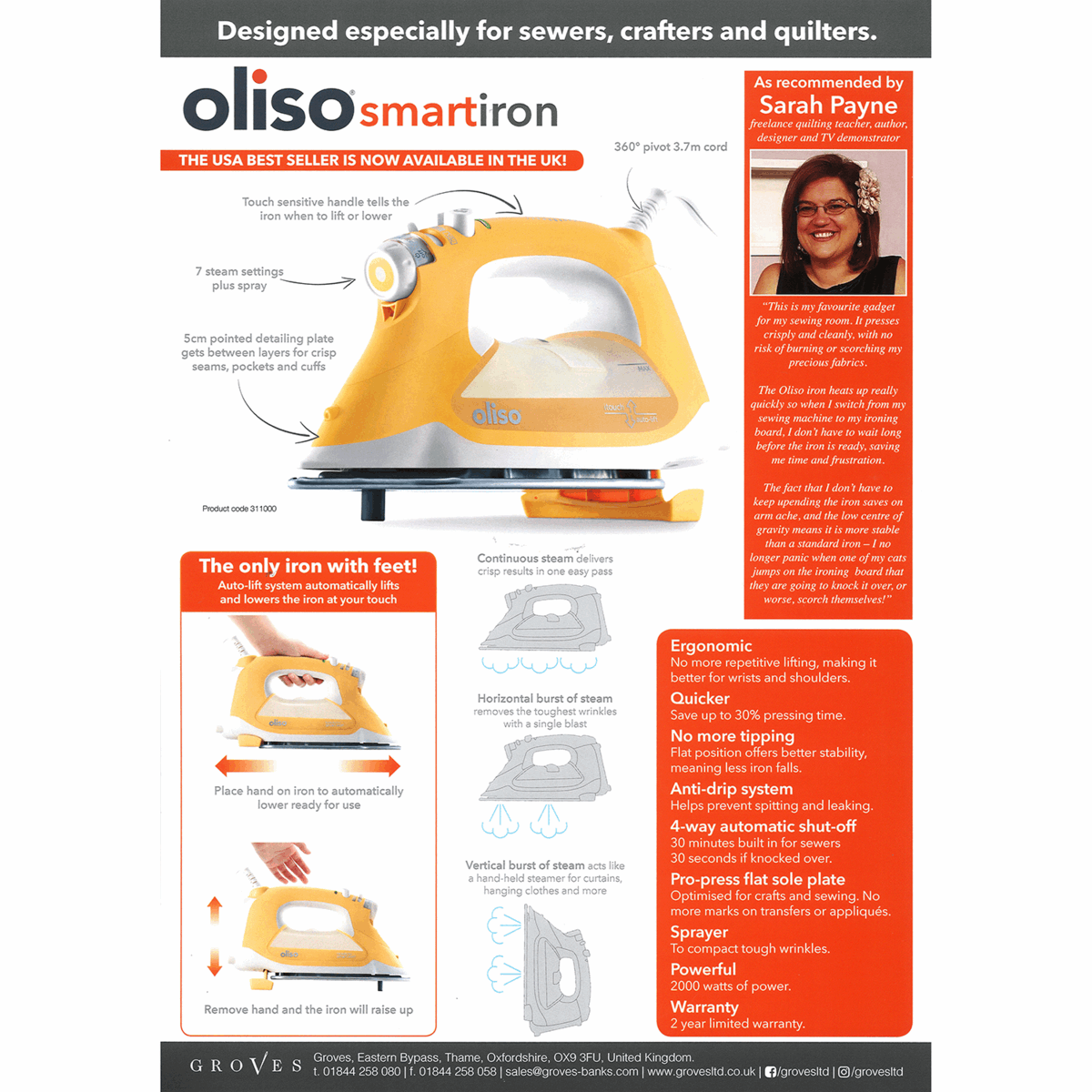 Picture of Poster for Oliso Smart Iron