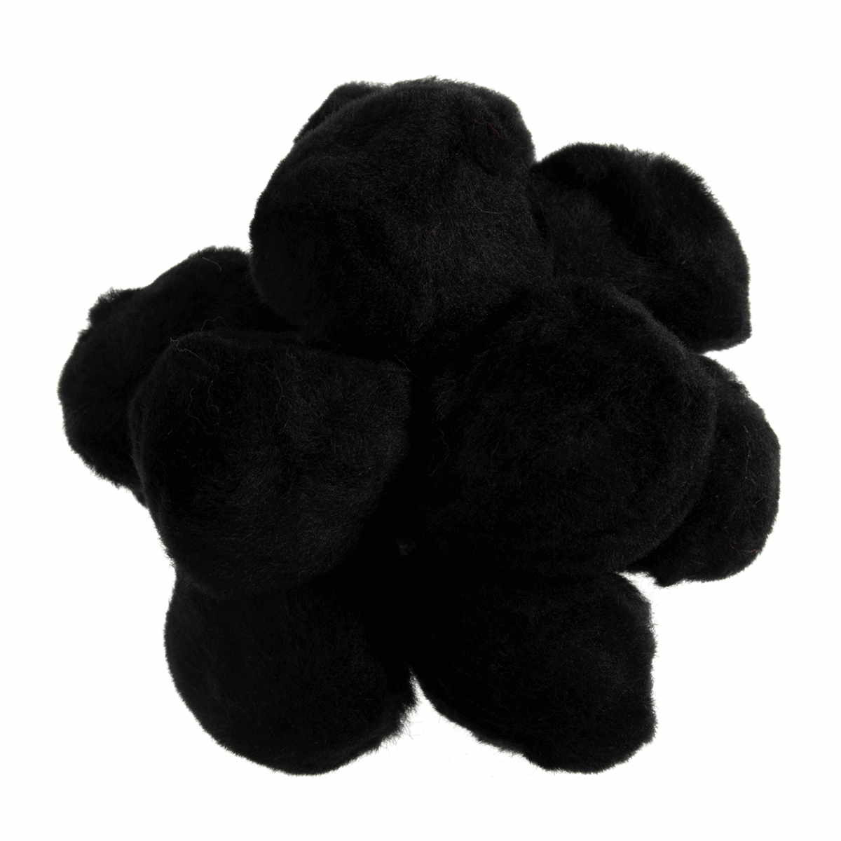 Picture of Pom Poms 50mm: Black: Pack of 25