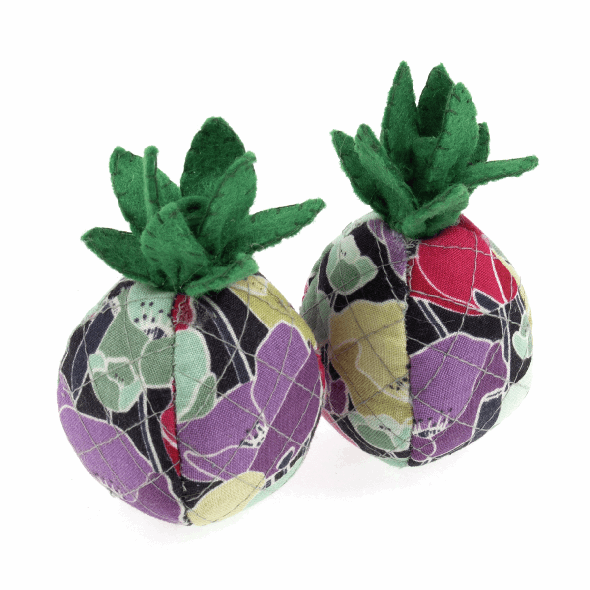 Picture of Pattern Weights: Pineapples: Set of 2