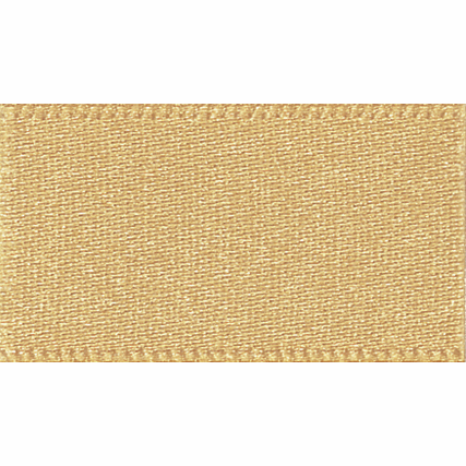 Picture of Newlife: Double Faced Satin: 20m x 15mm: Honey Gold