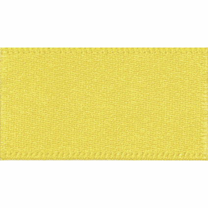 Picture of Newlife: Double Faced Satin: 20m x 15mm: Yellow