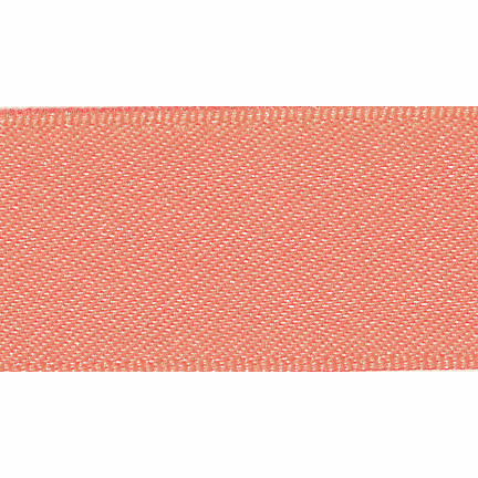 Picture of Newlife: Double Faced Satin: 20m x 15mm: Flo Orange