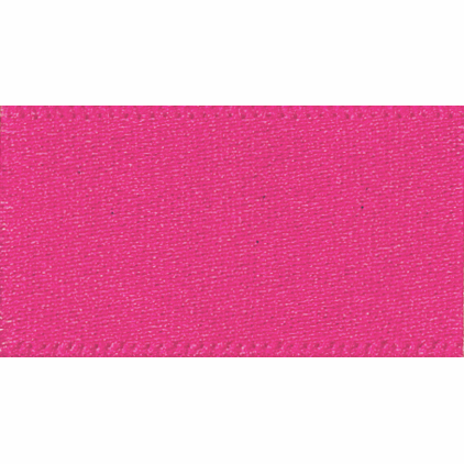 Picture of Newlife: Double Faced Satin: 20m x 15mm: Shocking Pink
