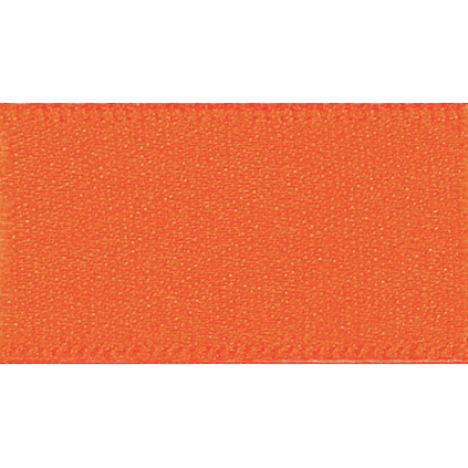 Picture of Newlife: Double Faced Satin: 20m x 25mm: Orange Delight