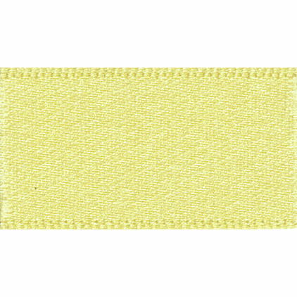 Picture of Newlife: Double Faced Satin: 50m x 3mm: Lemon