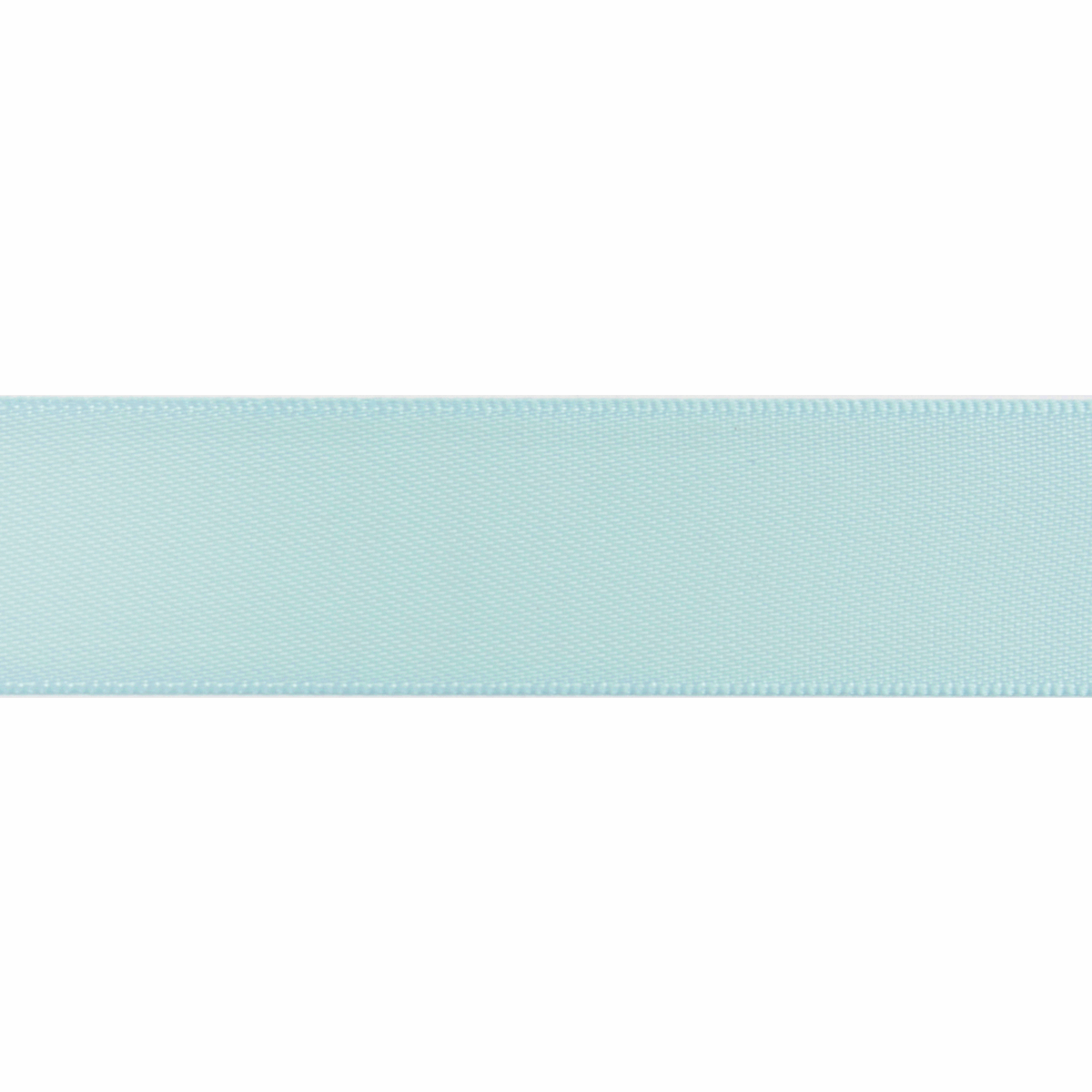 Picture of Double-Face Satin: 5m x 6mm: Light Blue