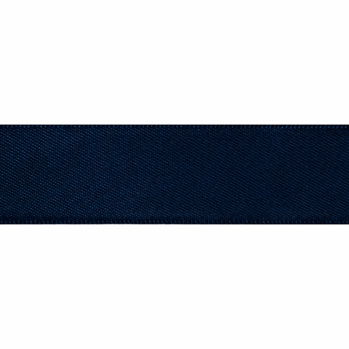 Picture of Double-Face Satin: 5m x 6mm: Navy Blue