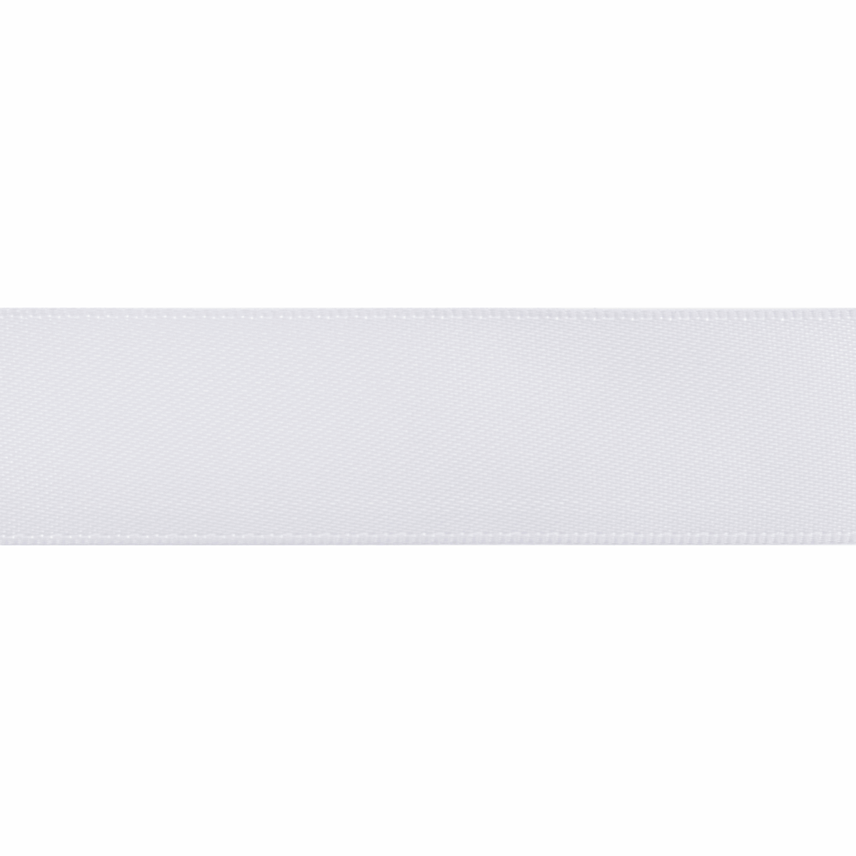Picture of Double-Face Satin: 5m x 12mm: White