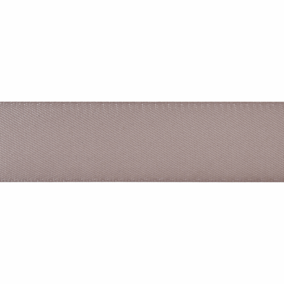 Picture of Double-Faced Satin: 5m x 12mm: Grey