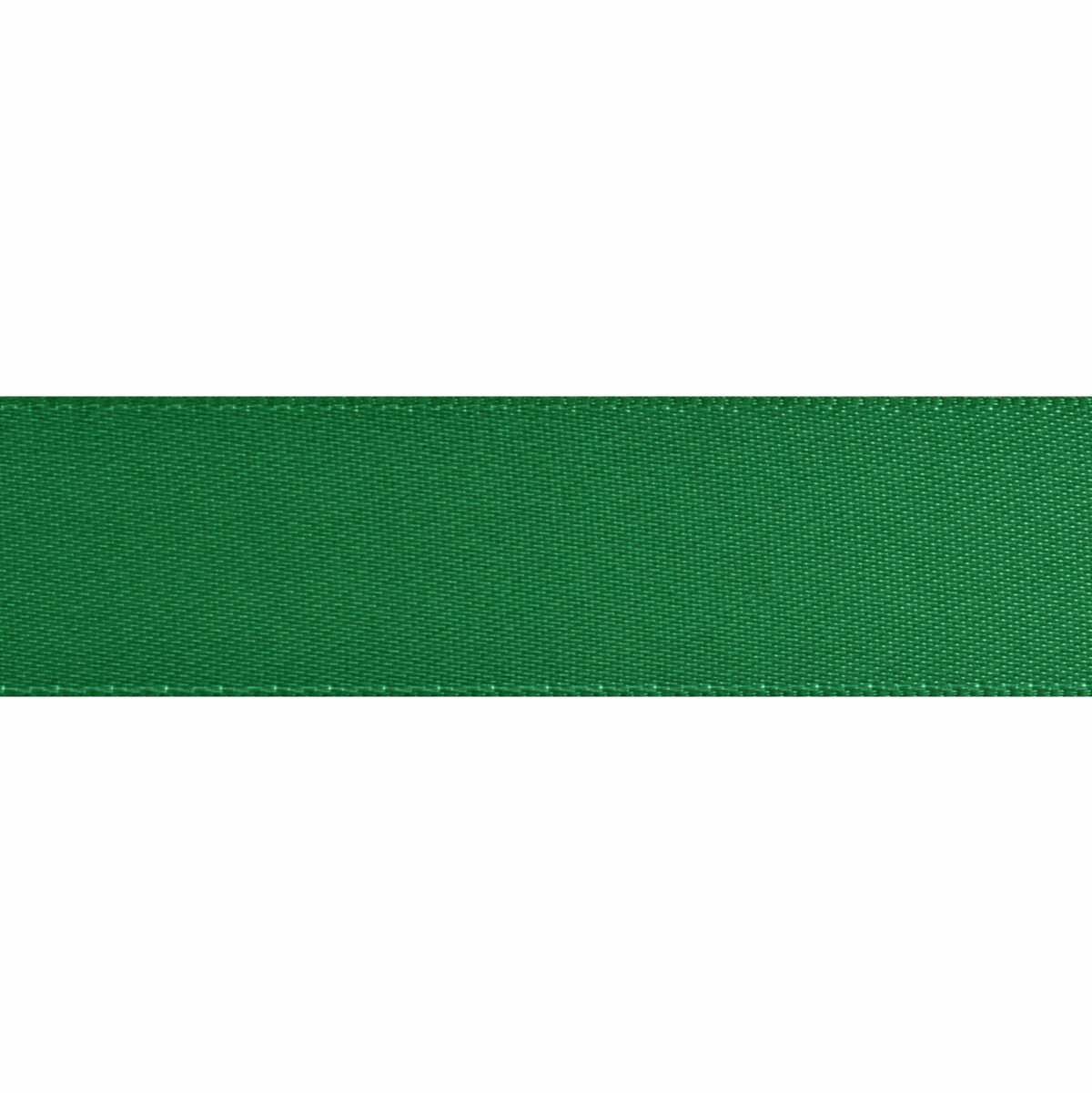 Picture of Double-Face Satin: 5m x 12mm: Green