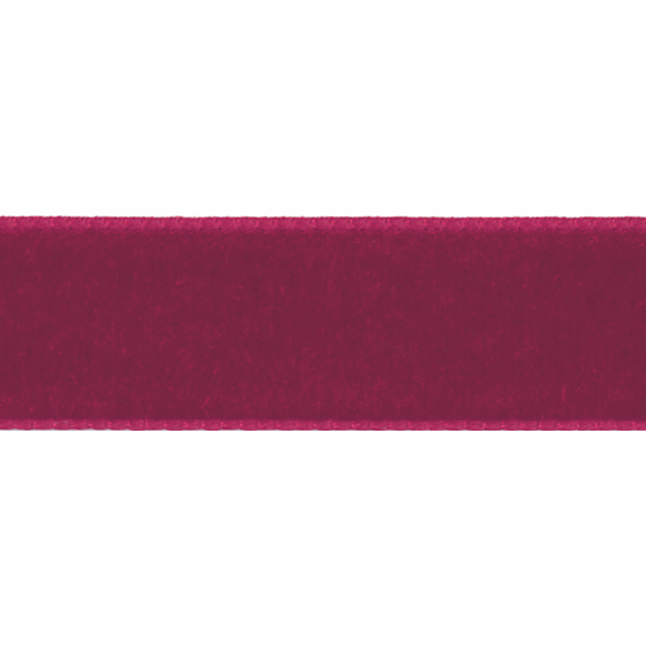 Picture of Velvet: 5m x 50mm: Dark Red