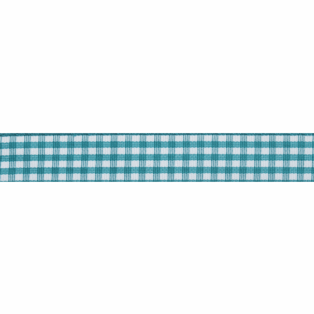 Picture of Gingham: 5m x 15mm: Teal