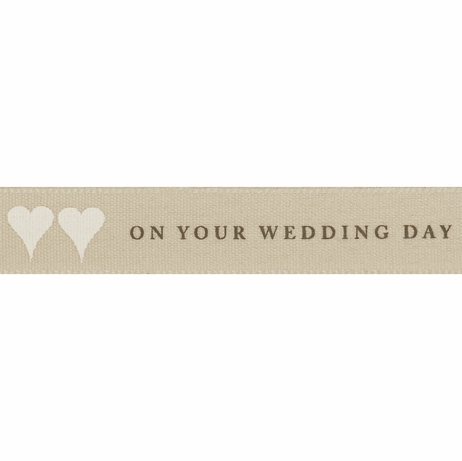 Picture of On Your Wedding Day: 20m x 15mm: Pumice