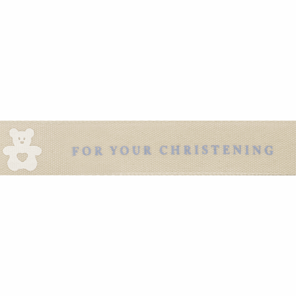Picture of For Your Christening: 20m x 15mm: Blue