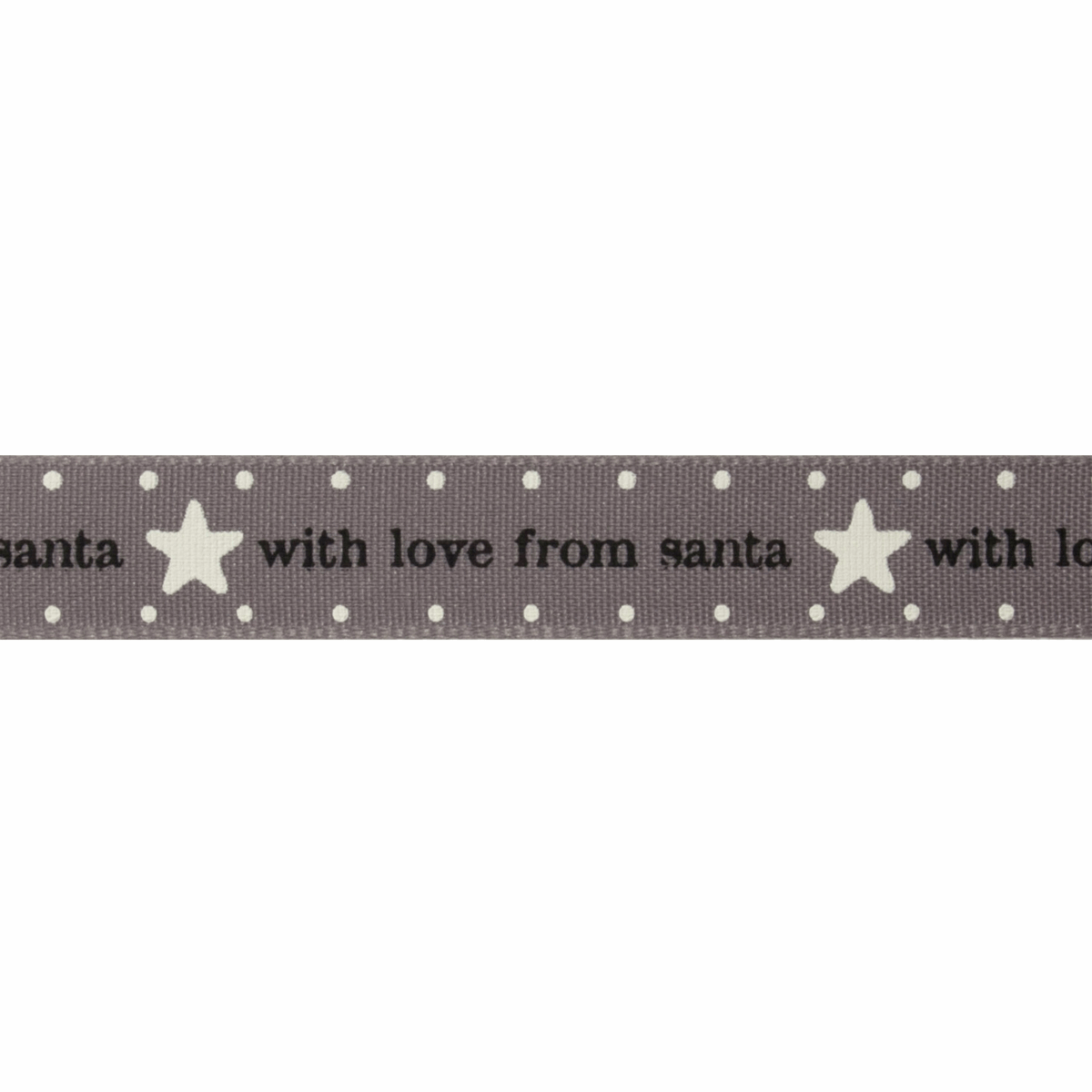 Picture of With Love from Santa: 20m x 15mm: Smoked Grey