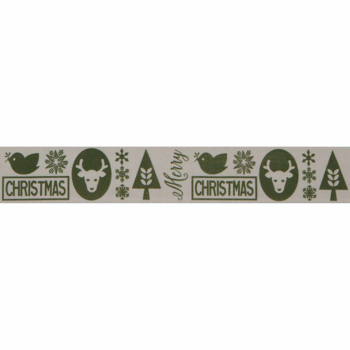 Picture of Christmas Motif: 20m x 25mm: Cypress