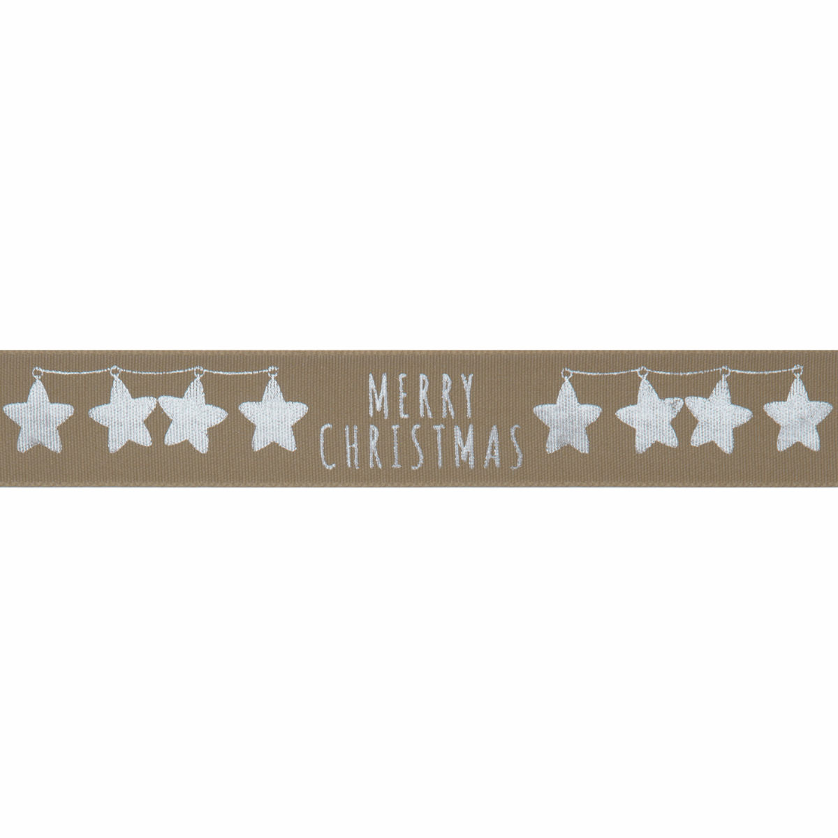 Picture of Merry Stars: 20m x 25mm: Silver