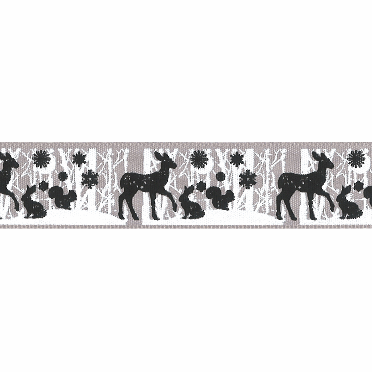 Picture of Woodland Animals: 20m x 25mm: Grey