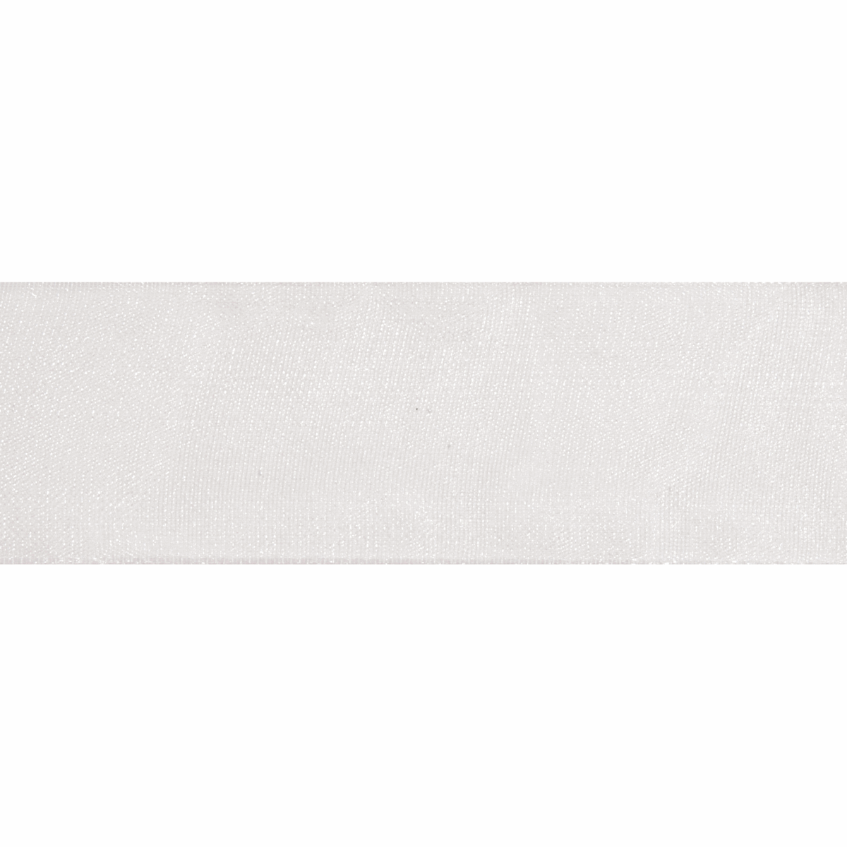Picture of Organdie Sheer: 5m x 25mm: White