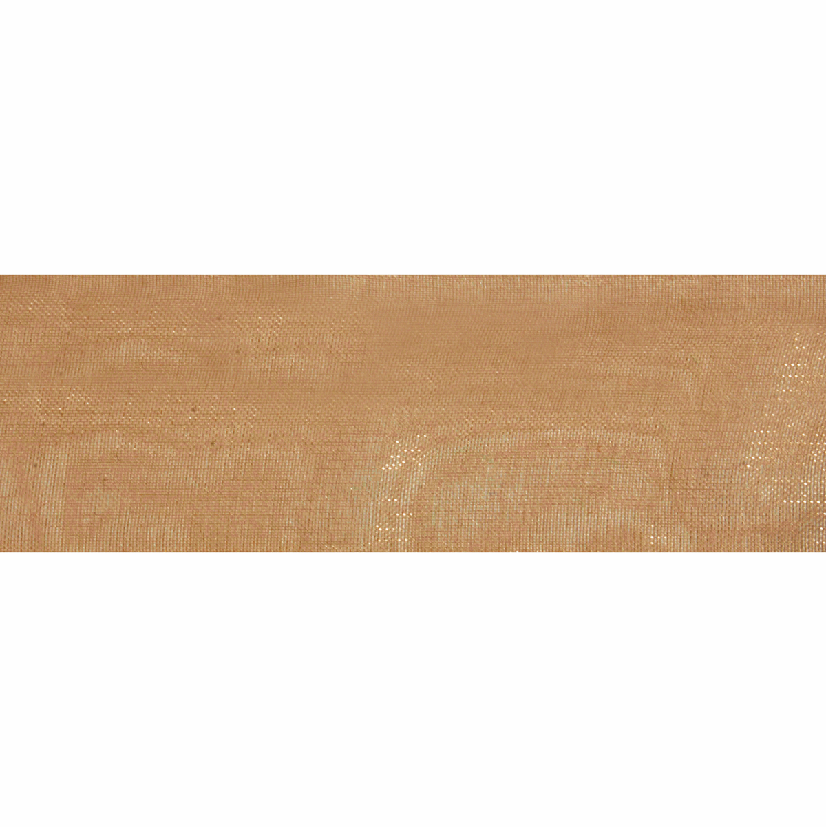 Picture of Organdie Sheer: 5m x 25mm: Old Gold