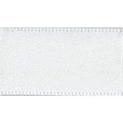Picture of Double Faced Satin: 20m x 7mm: White