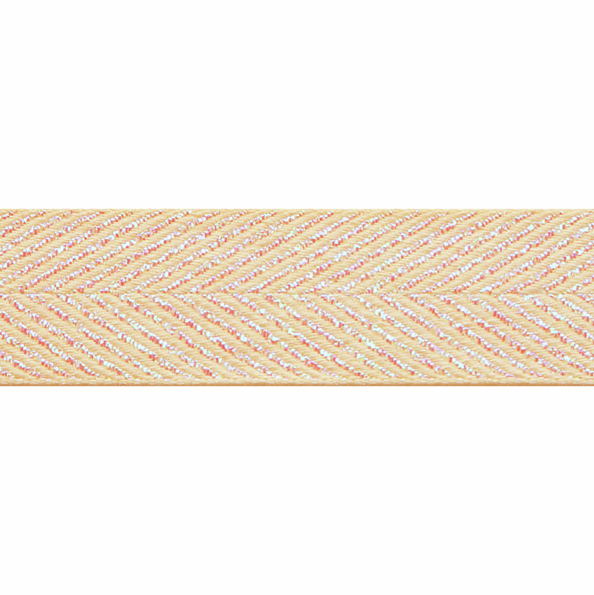 Picture of Zig Zag: 10m x 25mm: Ivory