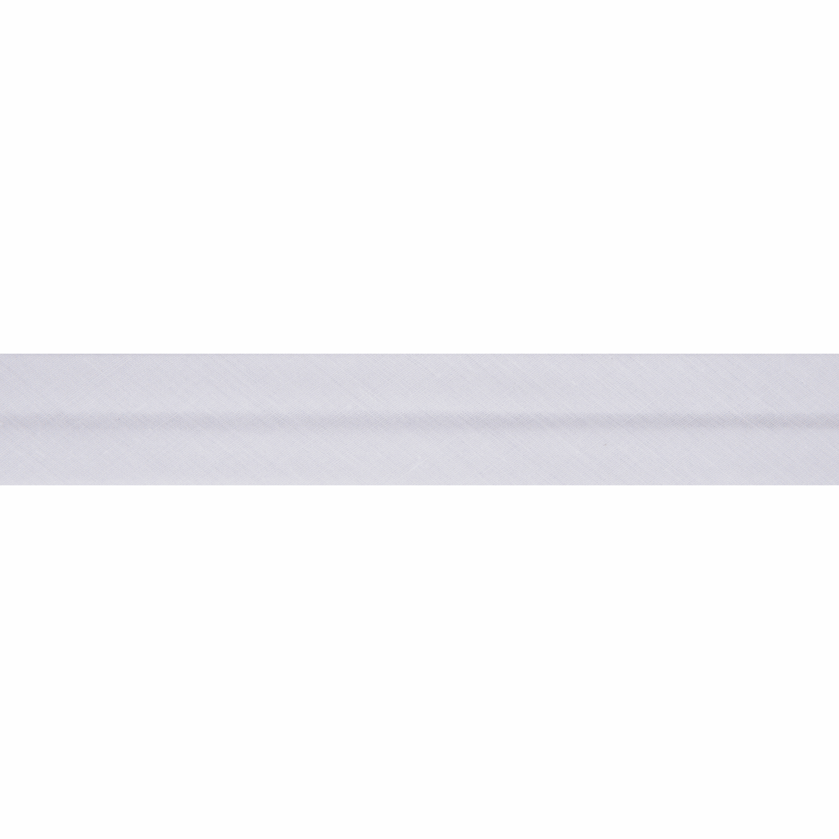 Picture of Bias Binding: Polycotton: 20m x 13mm: White