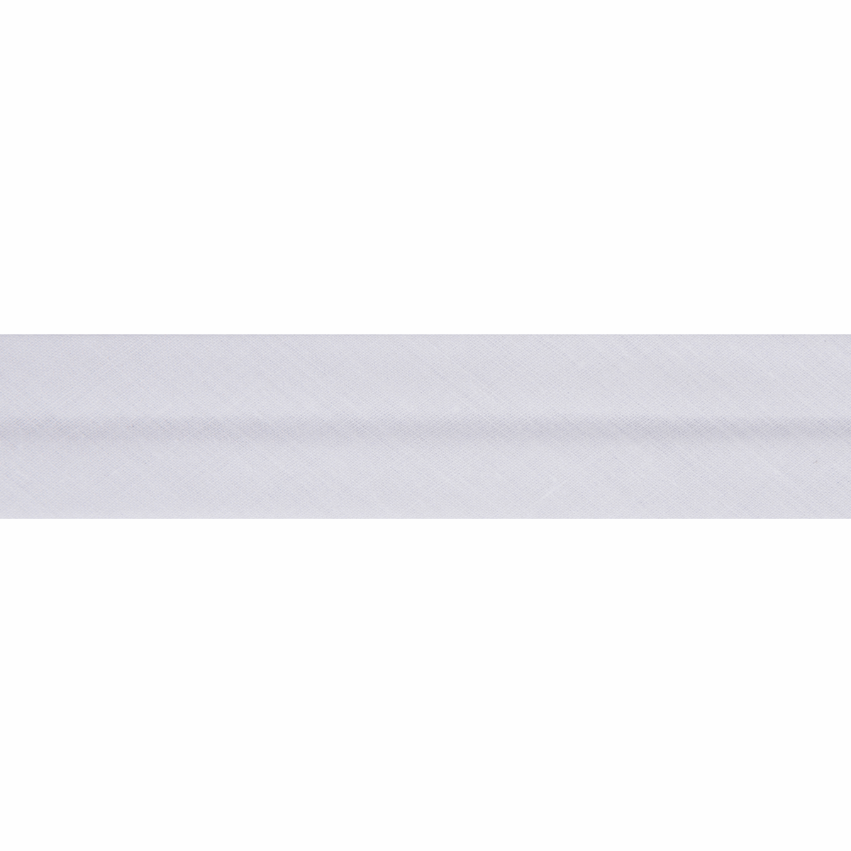 Picture of Bias Binding: Polycotton: 20m x 25mm: White