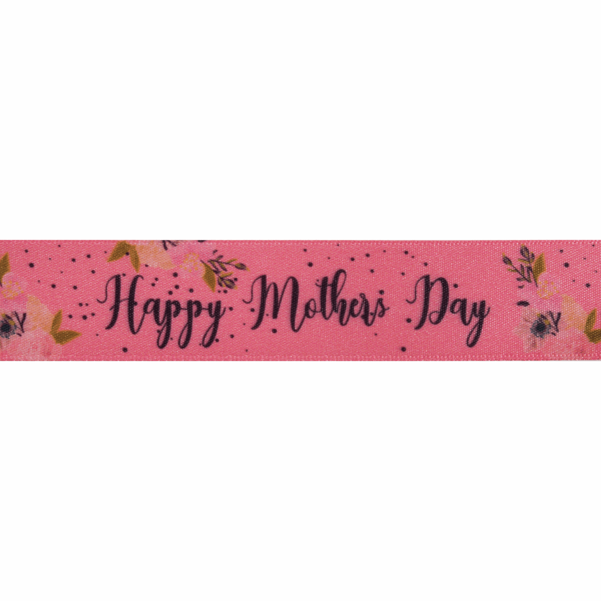Picture of Happy Mother's Day: 20m x 25mm: Pink