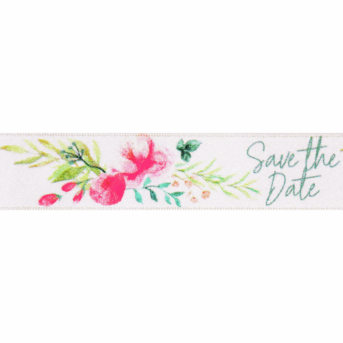 Picture of Save the Date Floral: 20m x 25mm