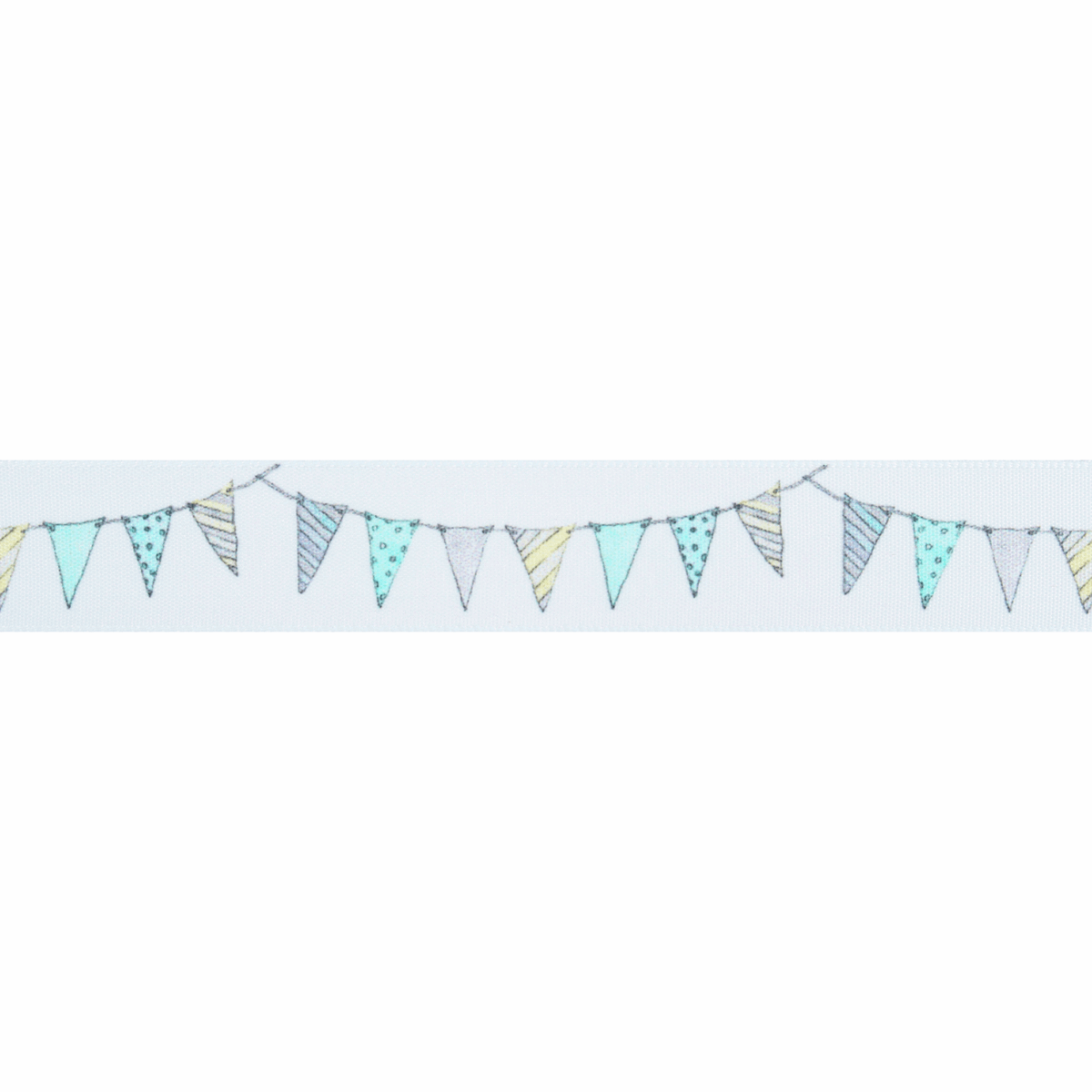 Picture of Bunting: 25m x 25mm: White