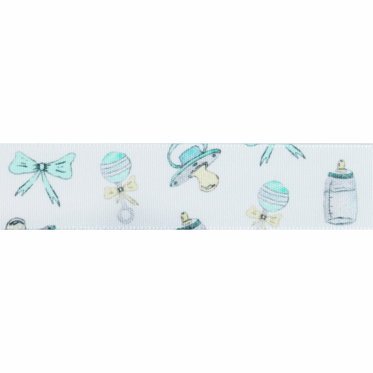 Picture of Baby Motifs: 25m x 25mm: White