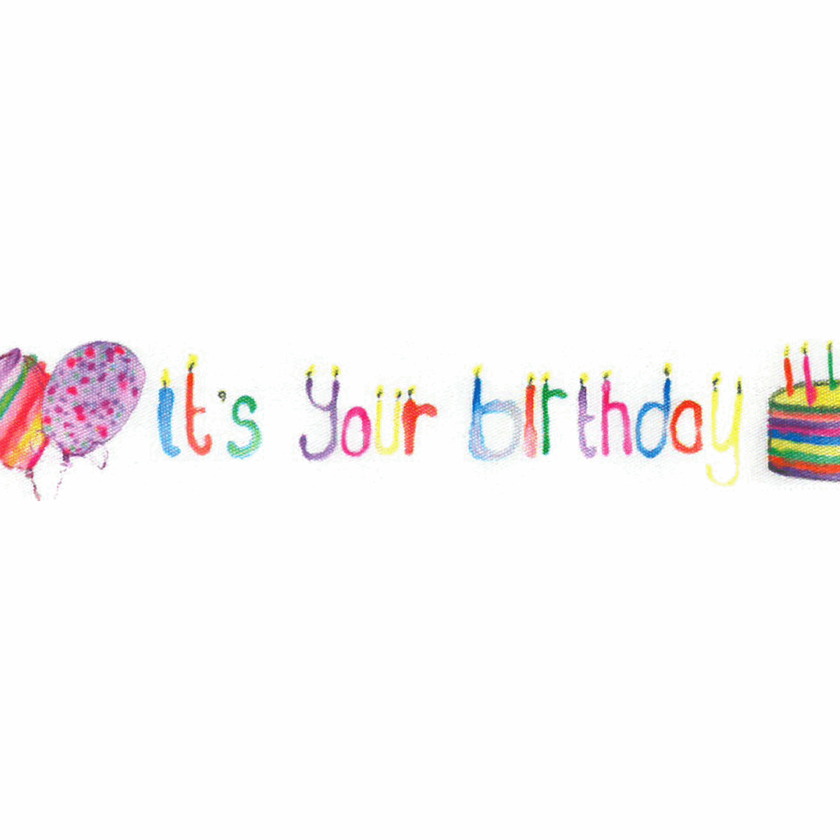Picture of It's Your Birthday: 20m x 25mm