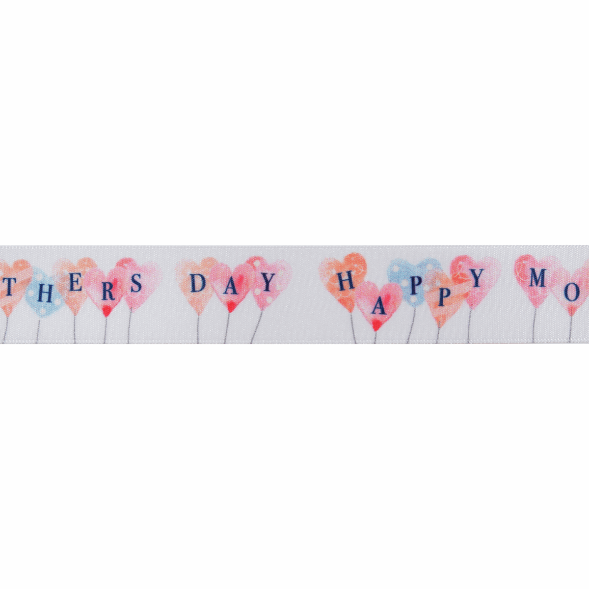 Picture of Mothers Day Balloons: 20m x 25mm: Multi