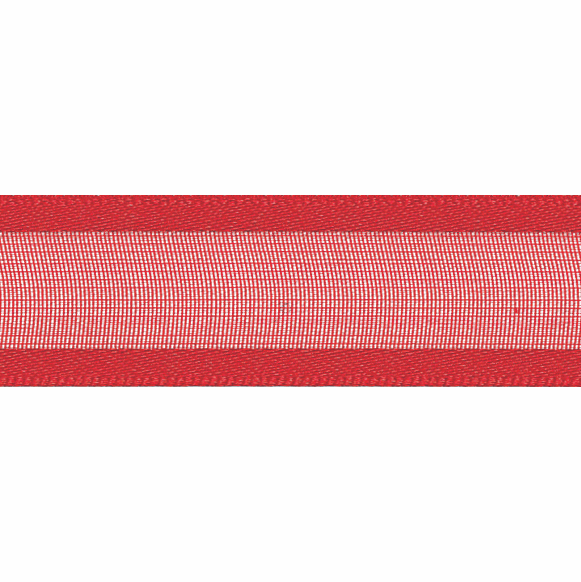 Picture of Sheer Elegance: 25m x 15mm: Red