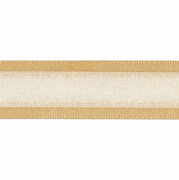 Picture of Sheer Elegance: 25m x 15mm: Honey Gold