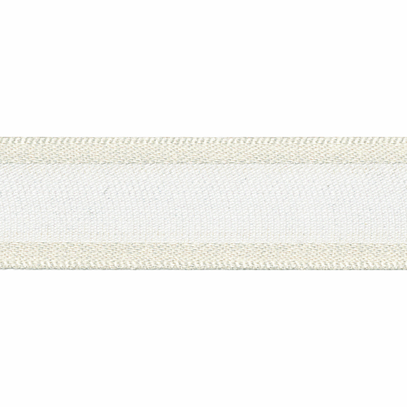 Picture of Sheer Elegance: 25m x 15mm: Pearl